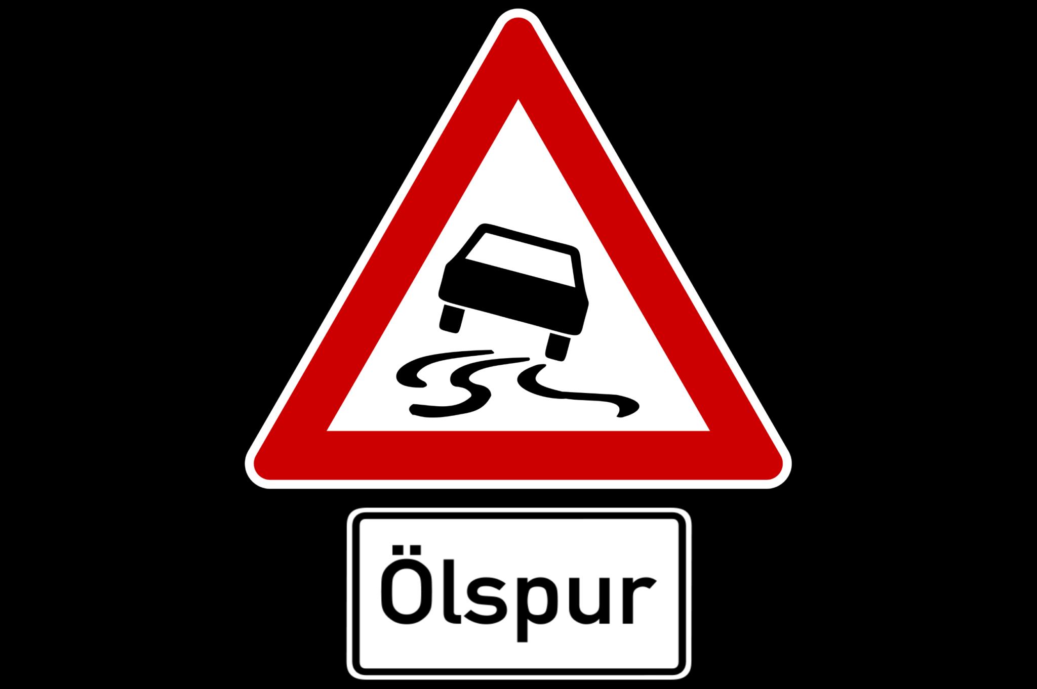 einsatz-oelspur-traffic-sign-6611-wide
