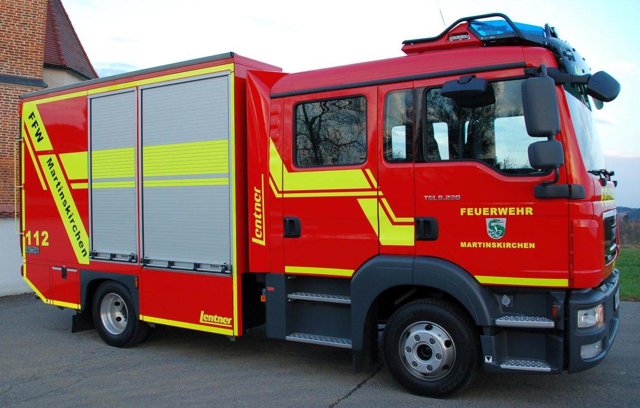 Tragkraftspritzenfahrzeug Logistik (TSF-L) – Freiwillige